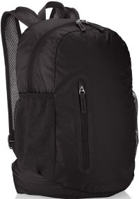 Front facing view of the Amazon Basics Ultralight Portable Packable Day Pack