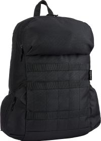 Front facing view of the Amazon Basics Canvas Laptop Backpack