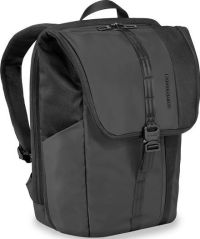 Front facing view of the Briggs and Riley Large Fold-Over Backpack