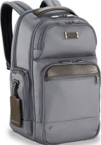 Front facing view of the Briggs & Riley Medium Cargo Backpack