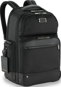 Front facing view of the Briggs & Riley Large Cargo Backpack