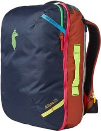 Front facing view of the Cotopaxi Allpa Travel Pack 35L Del Día
