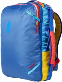 Front facing view of the Cotopaxi Allpa Travel Pack 42L Del Día