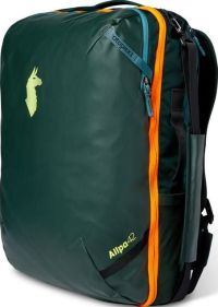 Front facing view of the Cotopaxi Allpa Travel Pack 42L