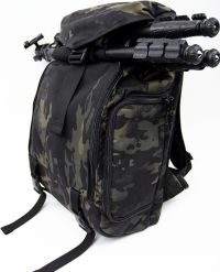 Front facing view of the DSPTCH Camera Ruckpack