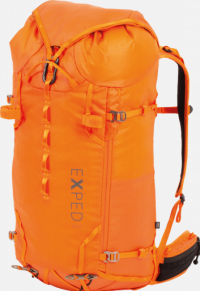 Front facing view of the Exped Verglas 40 Women