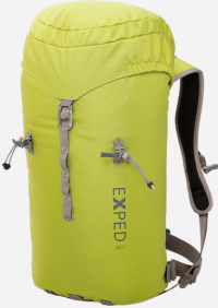 Front facing view of the Exped Core 35