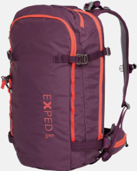 Front facing view of the Exped Glissade 25 Women