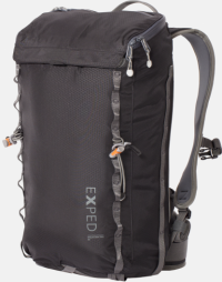 Front facing view of the Exped Mountain Pro 20