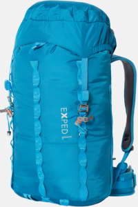 Front facing view of the Exped Mountain Pro 40 Women