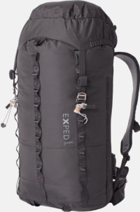Front facing view of the Exped Mountain Pro 40