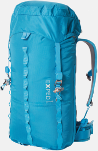 Front facing view of the Exped Mountain Pro 30 Women