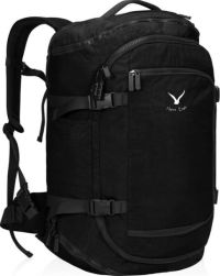 Front facing view of the Hynes Eagle 45L Travel Flight Approved Carry on Backpack
