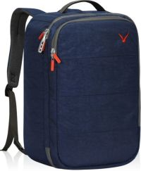 Front facing view of the Hynes Eagle 36L Carry on Backpack with RFID Blocking Pocket Weekender Cabin Bag