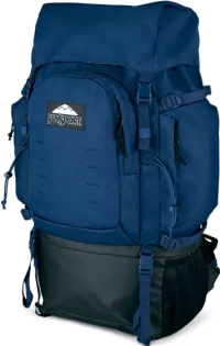 Front facing view of the Jansport Far Out 65