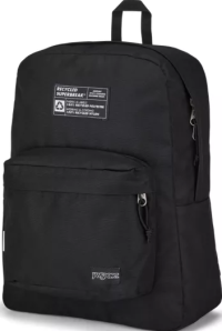 Front facing view of the Jansport Recycled SuperBreak