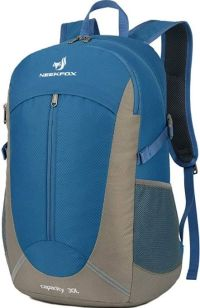 Front facing view of the Neekfox 30L Lightweight Backpack