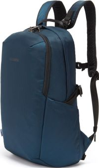 Front facing view of the Pacsafe Vibe 25L ECONYL® Anti-Theft Backpack