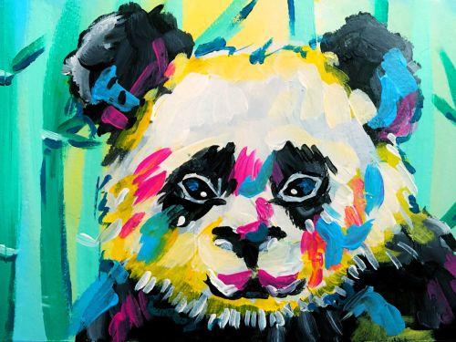 Virtual ArtJamz®: Panda-mania!
