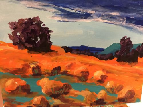 x4 2-hour Online Painting Classes with Robbi Firestone