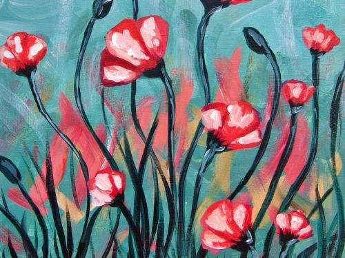 At-Home Experience - Dancing Poppies