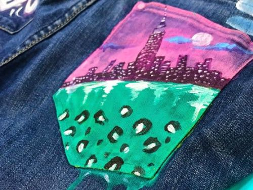 Artwear: The Denim Painting Class