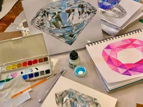 Online Watercolor (Session 2) @ Art Yourself Studio