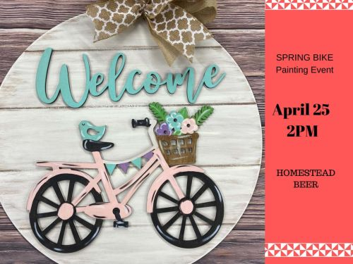 Welcome Spring Bike at Homestead Event