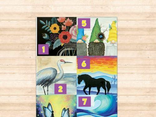Art-to-GOGH Take Home Kits #1-8