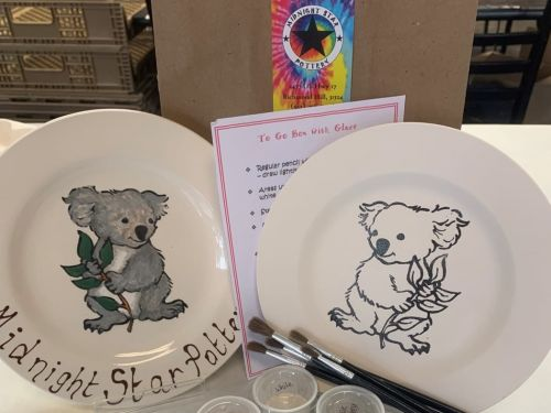 To Go Box - Koala Plate