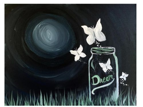 Butterfly Dreams Painting Tutorial