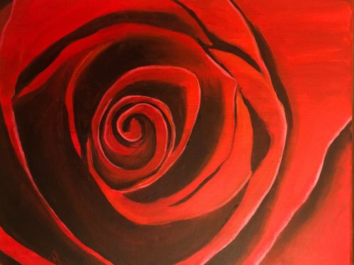Red Rose Paint @ Home Experience