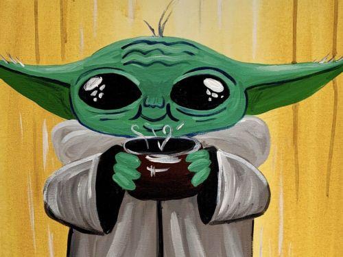 Whimsy to Gogh At Home Art Kit - Baby Yoda