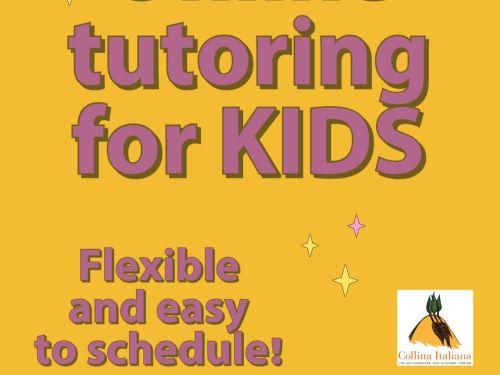 Registration Form - Children - ONLINE - Girotondo 8-1-h classes