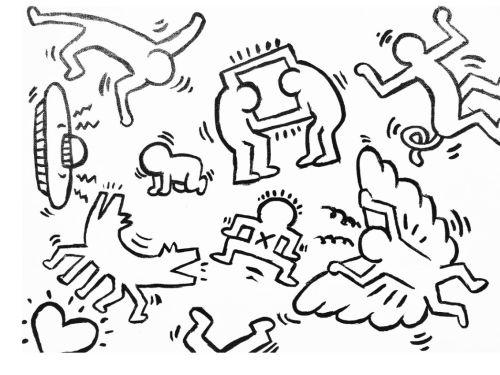 Virtual ArtJamz®: Paint Like Keith Haring