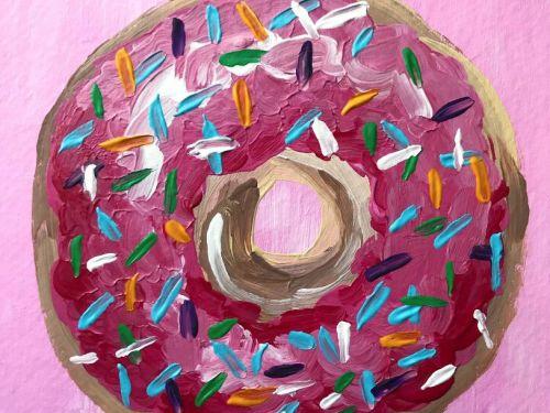 Virtual ArtJamz®: Go Nuts for Doughnuts