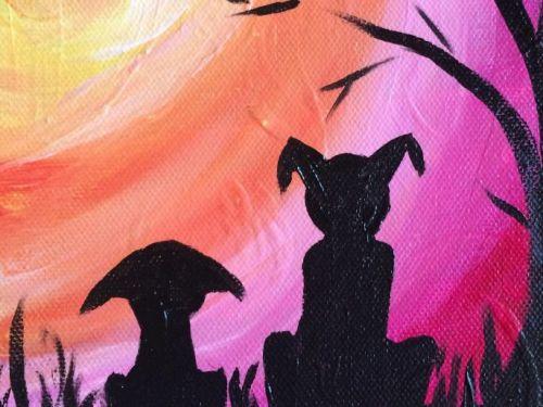 KIDZ Virtual ArtJamz®:  Puppy Love
