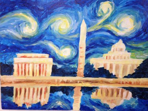 Virtual ArtJamz®: DC Starry Night