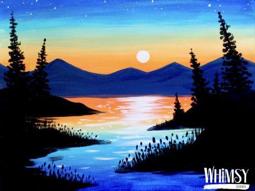 Whimsy to Gogh Art Kit - Sunset Blues