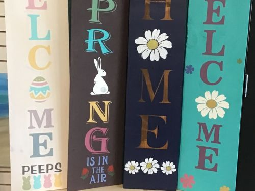 Porch Signs, Clocks, Benches - Create at Home Kit