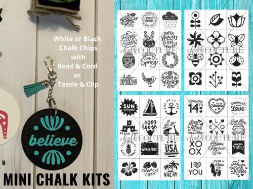 BORDEM BUSTERS - AT HOME DIY Chalk Art Kits - $12 CAD