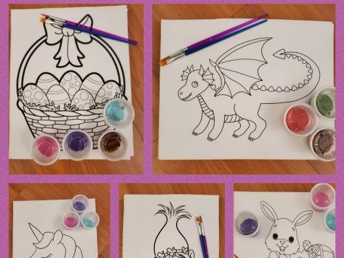 Canvas Art Kits To Go