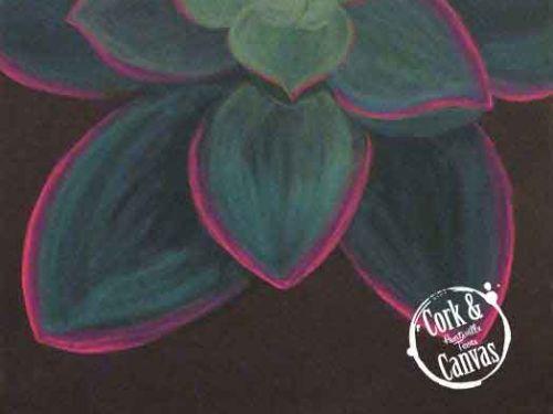 Succulent Paint @ Home Experience