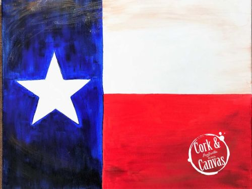 Texas Flag Paint @ Home Experience