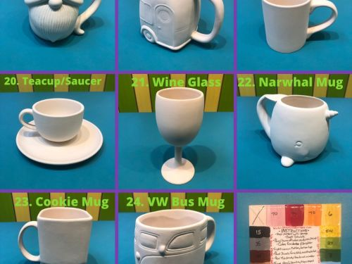 Pottery-to-go Mugs and Cups