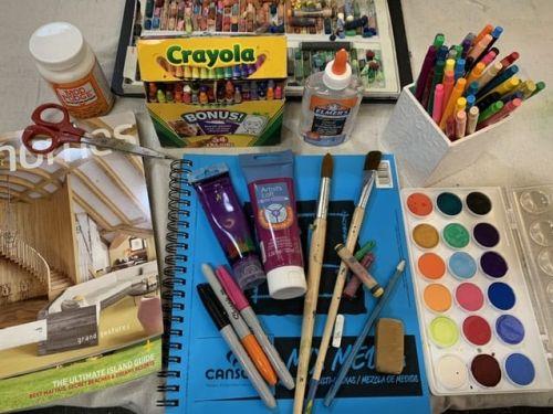 Online Art Journaling Class: $22 6pm