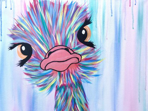 Online Class - Baby Ostrich with MANDY