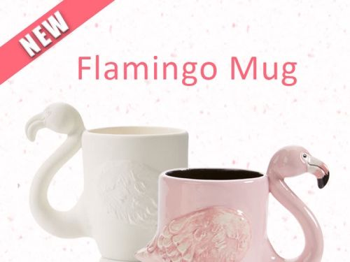 Flamingo Mug To Go Kit