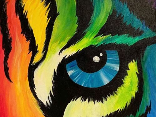 Online Class - FUNDRAISER Eye of the Tiger with ELYSE