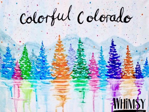 Whimsy to Gogh Art Kit -Colorful Colorado